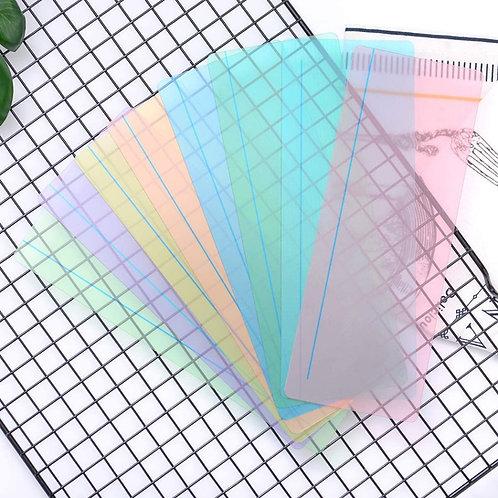 Règle de lecture colorée grand modèle
