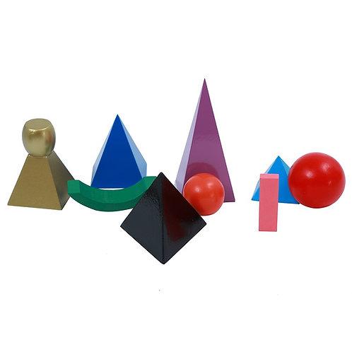 Set symboles de grammaire bois en 3D