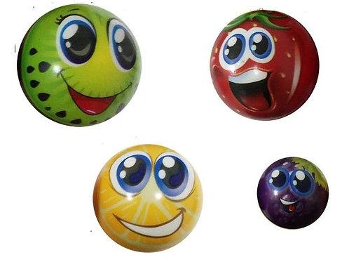 Balle anti stress modèle Emoji Fruit