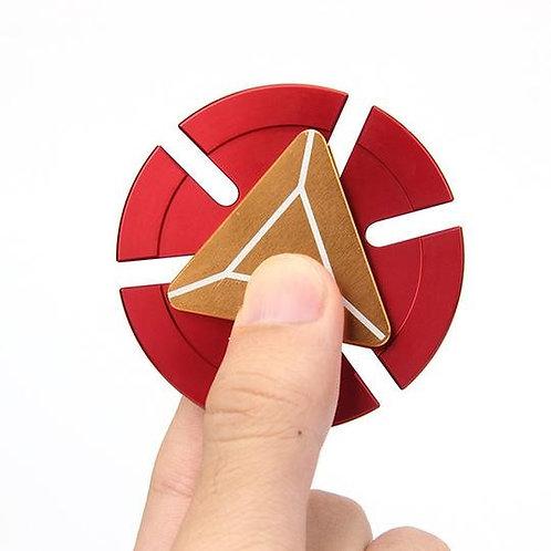 Hand spinner Iron Man + boite de rangement métal