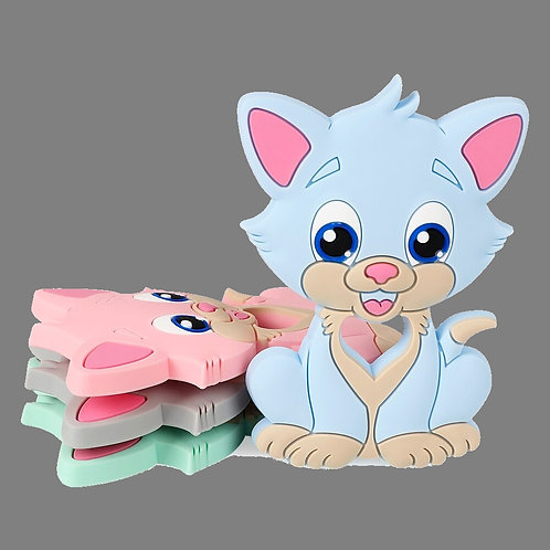 Collier silicone Joli petit chat