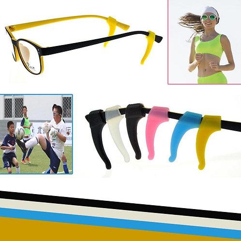 Lot de 3 paires de Bloque lunette en silicone