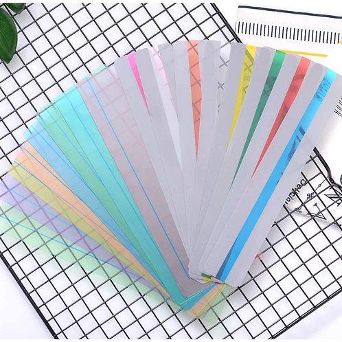 Règle de lecture colorée petit modèle