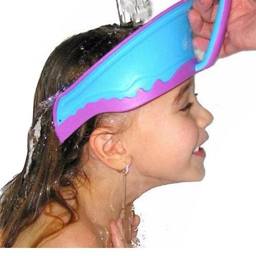 Visière de bain pour le shampoing