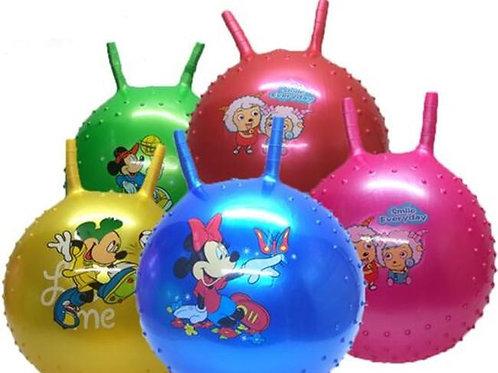 Ballon Sauteur Animal Rose