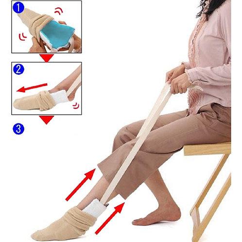 Aide à enfiler les chaussettes