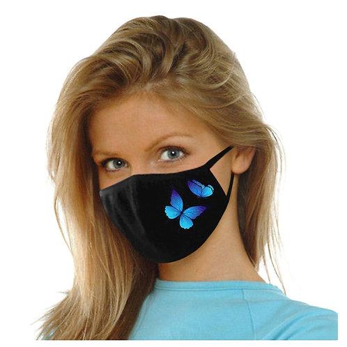 Masque en tissu Papillon Adulte