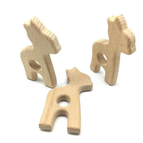 Girafe en bois pour gros mordeur ;-)