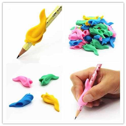 Lot 3 Supports de doigts pour stylo forme poisson