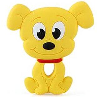 Collier jolie chien jaune