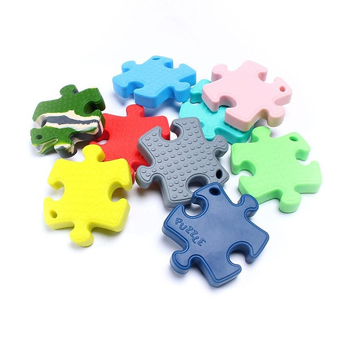 Collier silicone Puzzle