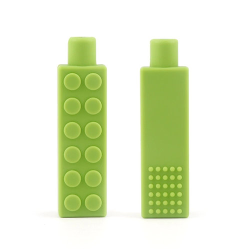 LEGO en silicone à mordre / Protège stylo