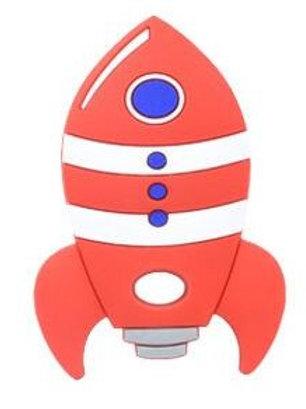 Collier Fusée rouge