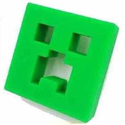 Collier Silicone forme Creeper de Minecraft