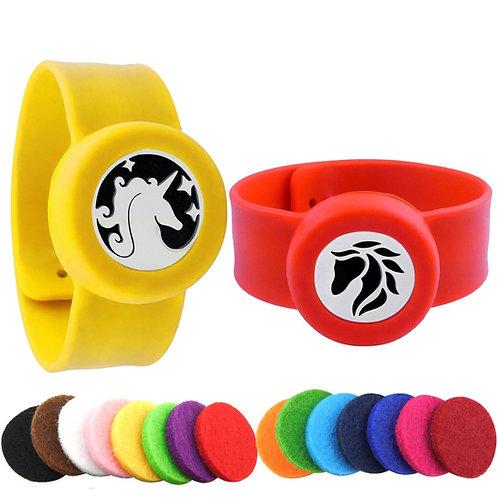 Bracelet diffuseur d'huile essentielle pour enfant