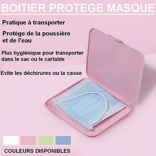 Boitier protège masque