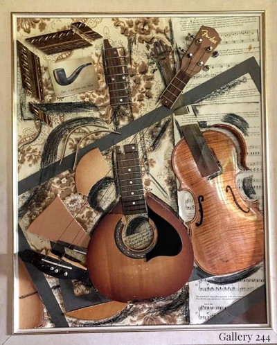 Violin, Mandolin, Guitar and Pipe