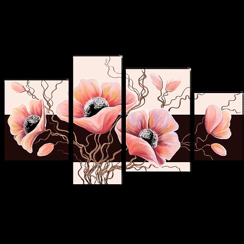 «Композиция из розовых цветов»