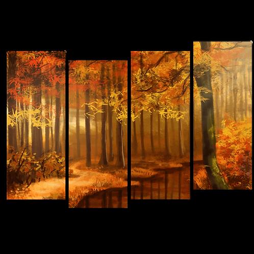 «Осенний ручей»