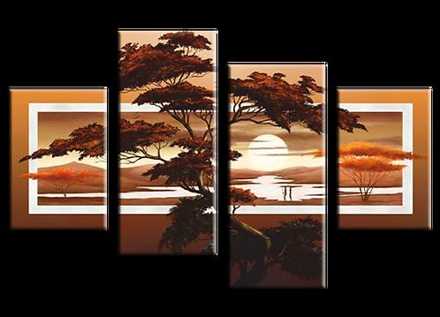 «Дерево на закате»