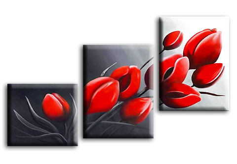 «Алые тюльпаны»