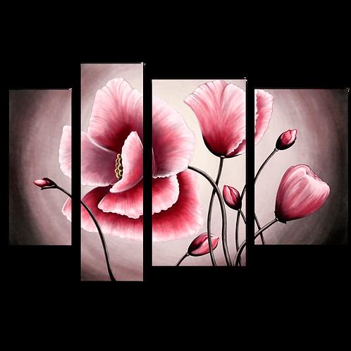 «Стилизация. Розовый мак»