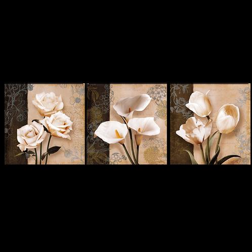 «Триптих. Цветочное трио»