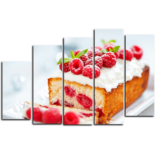 «Бисквит с лесными ягодами»