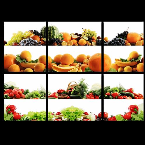«Коллаж из овощей и фруктов»