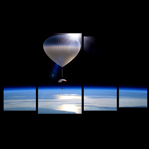 «Воздушный шар в стратосфере»