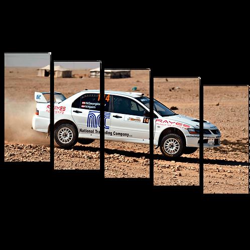 «Песчаные гонки»