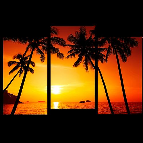 «Яркий закат»