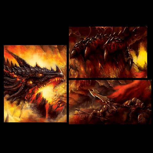 «Атака на огненного монстра»