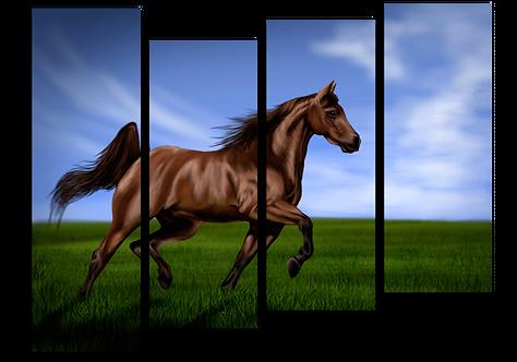«Гнедая лошадь»