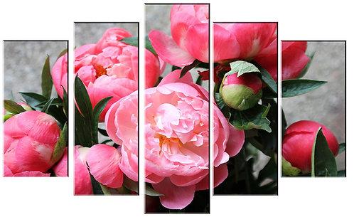 «Букет розовых пионов»