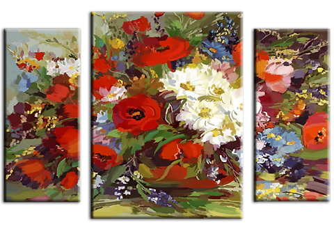 «Натюрморт. Полевые цветы»