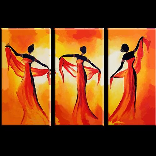 «Огненный танец»