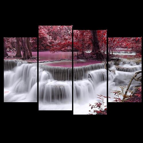 «Водопад в цветущем саду»