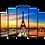 Thumbnail: «Летний закат в Париже»