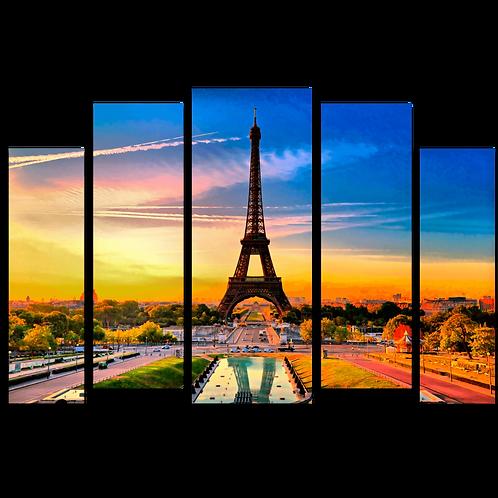 «Летний закат в Париже»