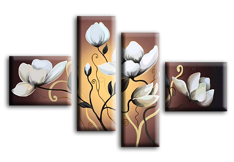 «Белые цветы. Арт Декор»