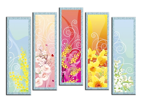 «Цветочный коктейль»