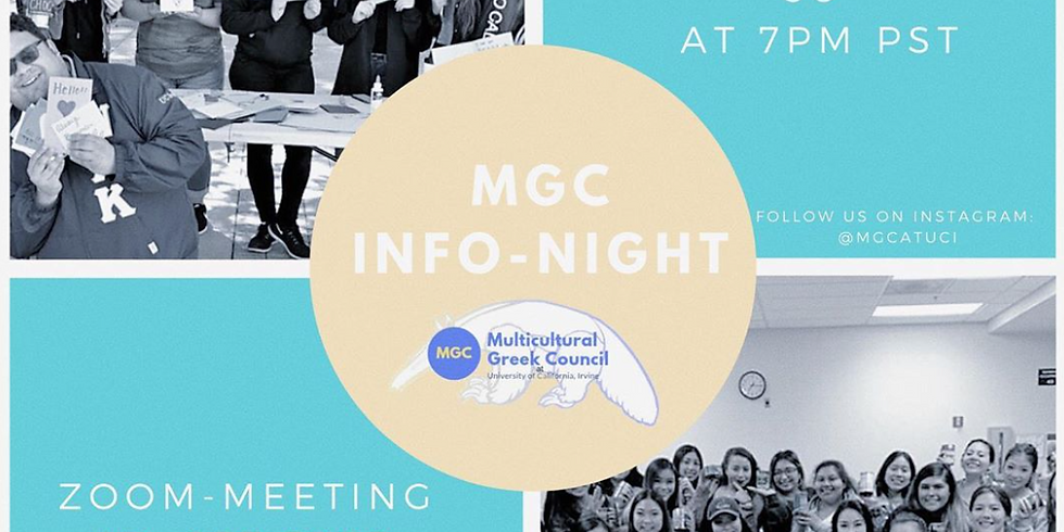 Multicultural Greek Council Informational Night