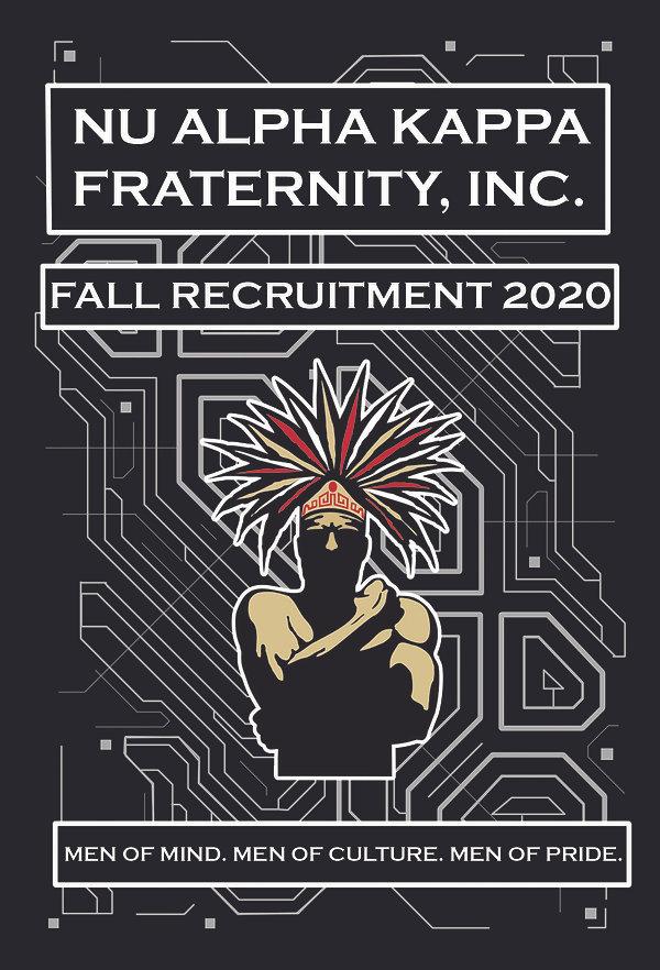 NAK PSI Fall 2020 Recruitment Flyer Fron