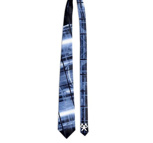 Grey Electric Tie