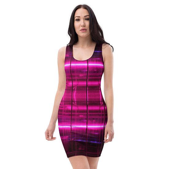 Electric Pink BodyCon Dress