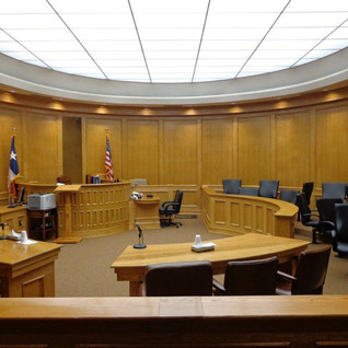 Yoakum County District Courtroom
