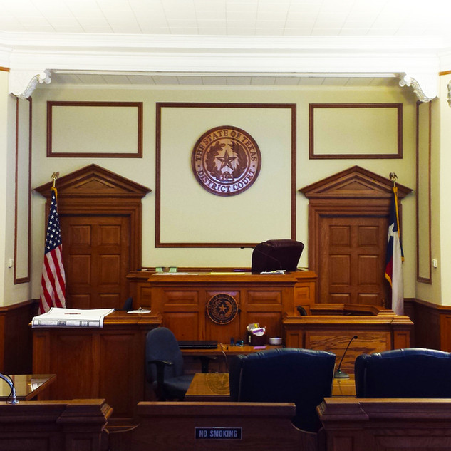 Palo Pinto County Courtroom