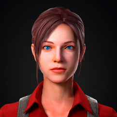 Claire Redfield - Resident Evil 6 Bar Maid Remade