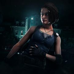 Jill Valentine - Resident Evil 3 (DBD Art Concept).png